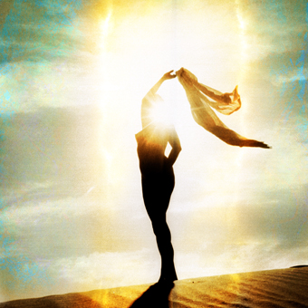Woman Experience the Freedom on Her Inner Light